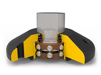 施肥盘轮毂单元组件