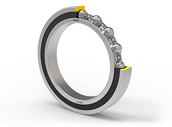 Thin section deep groove ball bearings